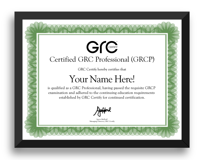 Image result for grc certification